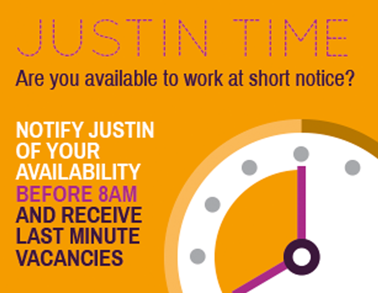 Are you available to work at short notice?