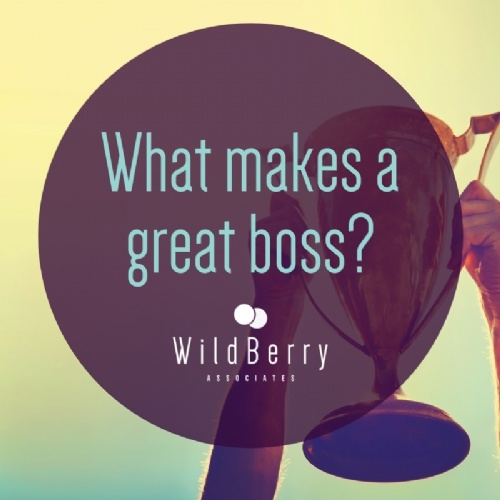 What makes a great boss?
