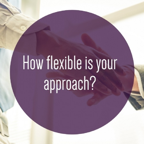 How flexible is your approach?