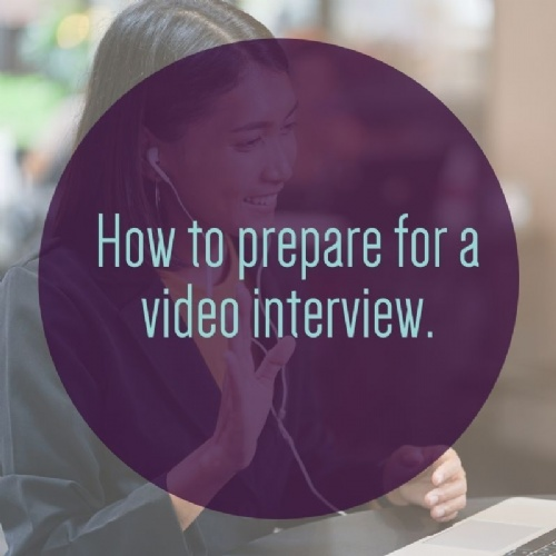 Preparing for a Video Interview