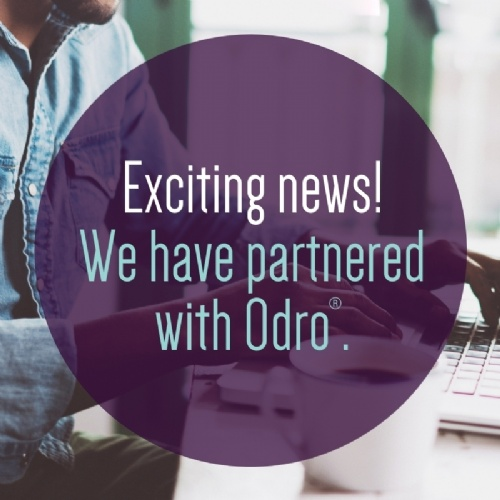 We have partnered with Odro.®