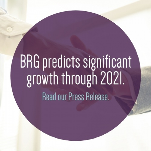 BRG predicts significant growth through 2021